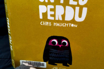un peu perdu - Couv - Chris Haughton
