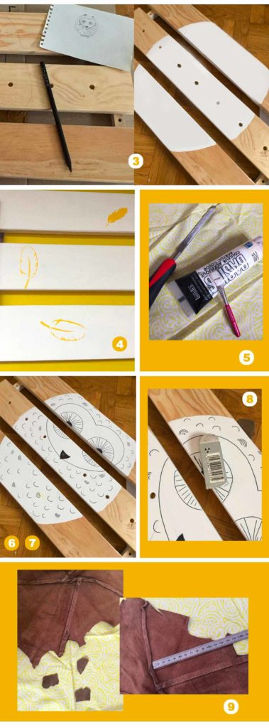Diy chouette caisse bibliotheque